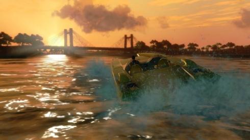Obviamente los botes no podrian faltar, los cuales resultaran muy utiles a la hora de recorrer el campo maritimo