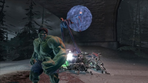 Entre los superheroes que ya han confirmado su presencia, estan: Hulk, Wolverine, Spiderman, Daredevil, Ironman y Luke Cage