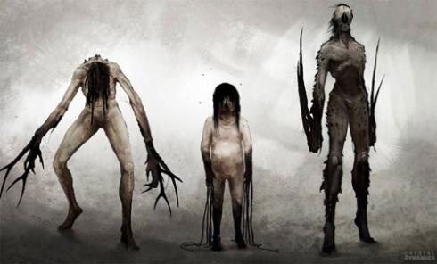Los enemigos son bastante siniestros y extraños, supondrán una novedad radical en la saga.