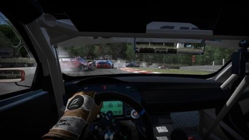 Otra de las grandes caracteristicas en esta entrega, seran las vistas desde el interior de nuestro coche, y aunque estas se asemejan mucho a las que hemos visto de Forza 2, siguen viendose verdaderamente impresionantes