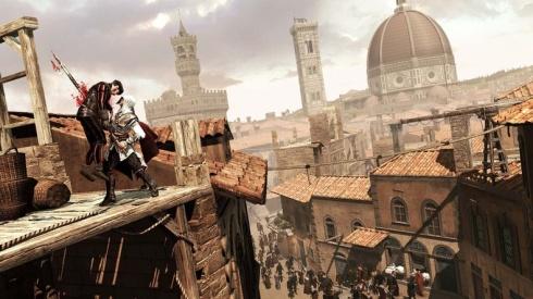 Hubiera sido un grandisimo crimen el que Ubisoft no presentara al majestuoso y tan esperado Assassins Creed 2