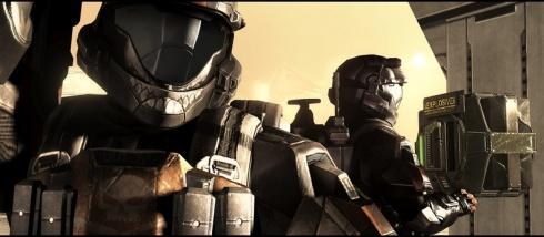 Graficamente, el videojuego utiliza el mismo motor grafico que Halo 3, y como no era de extrañar, el resultado es casi identico. Algunos modelos de personajes rayan muy bien, con texturas satisfactorias y buena carga poligonal. Sin embargo. Otros no cumplen con estos requisitos, presentando rasgos faciales bastante torpes