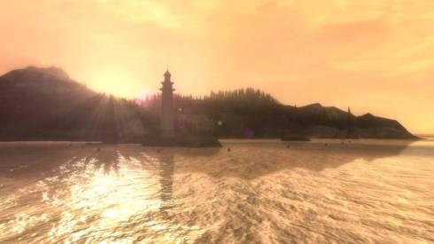 El apartado visual luce como el atractivo mas impresionante de Alan Wake. Los escenarios en verdad se ven excelentemente representados