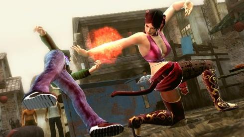 Graficamente, el videojuego luce sensacional, presentando coloridos escenarios de batalla y excelentes animaciones de personajes