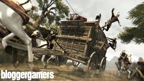 En ocaciones el videojuego nos retara con magnificas secuencias de conduccion en carretas